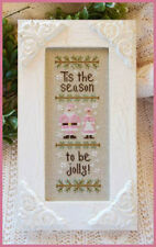 10% Off Country Cottage Needleworks Counted X-stitch chart - Tis the Season