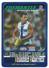 2005 Teamcoach Blue Star Premium Prize Card (57) Josh CARR Fremantle