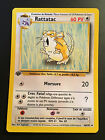 Carte Pokemon RATTATAC 40/102 Set de Base Wizard Edition 1 NEUF VF