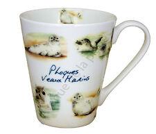 Mug phoques veaux marins tasse en céramique décoration marine table neuf