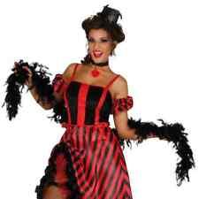 Black Feather Boa 1.8m Long Burlesque Hen Night Gangster Fancy Dress Item
