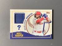 2020 Topps Opening Day Bryce Harper Major League Mementos Relic Phillies