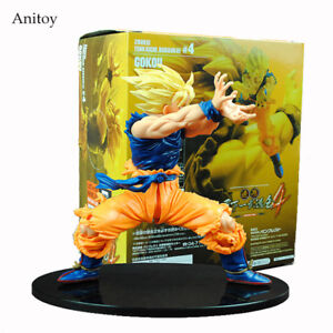 Dragon Ball Z Son Goku Super Saiyan PVC Action Figure Collectible Model Toy 17CM