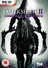 Darksiders II - Limited Edition & Argul's Tomb Expansion Pack (PC DVD) NEW