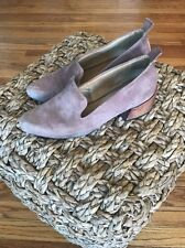 $585 Mari Giudicelli Gavea Loafers In Rose Dusty Pink 38