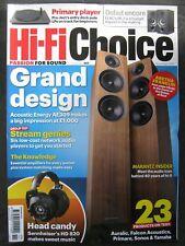 Hi-Fi Choice November 2018 Acoustic Energy AE309 Sennheiser HD 820 Network Audio