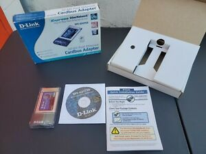D-Link DFE-690TXD 10/100 Mbps CardBus PC Card Fast Ethernet Notebook Adapter