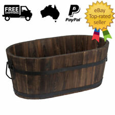 Oval Flower & Plant Raised Garden Beds Boxes