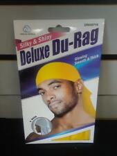 Smooth & Thick / Shiny & Silky Deluxe Du Rag Durag --YELLOW-NEW!!!!!!!!!!!!!!!