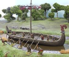28 mm Viking Longship-Resin-Painted to Collectors standard.