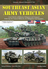 TANKOGRAD 7014 SOUTHEAST ASIAN ARMY VEHICLES: ARMY VEHICLES OF MALAYSIA, PHILIP