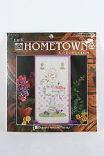 Designs for the Needle The Hometown Collection Powder Room Counted Cross Stitch