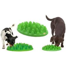 """Green Interactive Med - Large Dog Puppy Slow Feed Bloat Non Slip Feeder Bowl 16"""""""