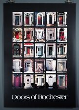 """Doors of Rochester"" NY Poster by Joan Stormont 1982"