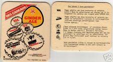 """BD (309) - Bierdeckel """"Ginder Ale"""", Belgien"""