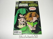 Green Lantern #47 DC 1993 Green Arrow Team Up They're Back! Gerard Jones Kolins