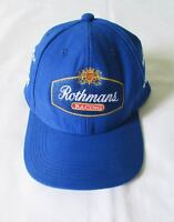 AYRTON SENNA HAT CAP BLUE WILLIAMS ROTHMANS FW16 DESIGN FORMULA 1 F1 NEW