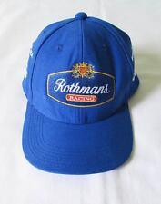 AYRTON SENNA HAT CAP BLUE WILLIAMS ROTHMANS FW16 DESIGN FORMULA 1 F1 NEW