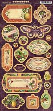 Graphic 45 FRUIT & FLORA Chipboard Set