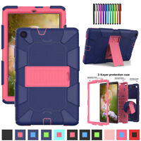 "For Samsung Galaxy Tab A 10.1"" T510 T515 Tablet Rugged Hybrid Rubber Case Cover"
