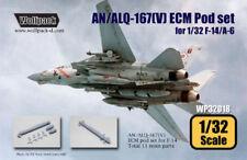 Wolfpack WP32018, AN/ALQ-167(V) ECM Pod set for F-14 , SCALE 1/32