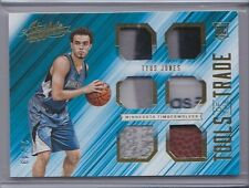 Tyus Jones 2015-16 Absolute Tools of the Trade 6 Piece Relic Prime Rookie /49