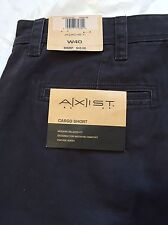 AXIST Size 40 Mens Shorts Cargo Relaxed Fit Phantom Gray Vintage Wash NWT
