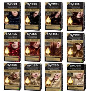 Syoss Oleo Intense Dye Permanent Oil Color Professional Performance AMMONIA free