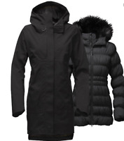 The North Face Womens Cryos GTX Triclimate Down Jacket TNF Black Extra Small XS