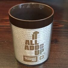 GM General Motors Coffee Cup Plastic Mug It All Adds Up Protection Plan Thermo