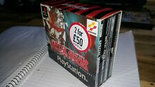METAL GEAR SOLID TWIN PACK CARDED SLEEVE EDITION WITH SPECIAL MISSIONS PS1
