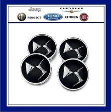 Citroen DS3 DS4 DS5 Black Alloy Wheel Centre Cap Set of 4 New Genuine 1609953780
