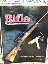 RIFLE 1/2 1981~STEYR MANNLICHER 25-06~MAUSER 270 WCF~ANSCHUTZ TRIGGER~MODEL 70