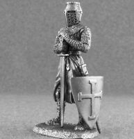 Tin Toy Soldiers Knight with Sword 1/32 scale 54mm Medieval Figures Metal