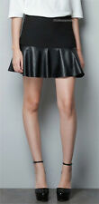 Unbranded Faux Leather Mini Skirts for Women