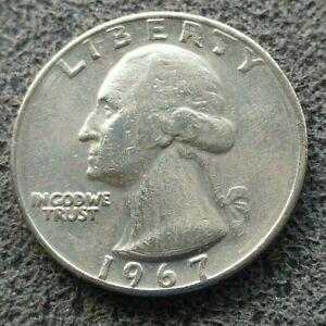 Etats-Unis Quarter Dollar 1967 - Pièce du Monde -  [8105]
