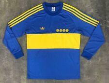 1981 Boca Juniors Maradona Home Long sleeve Retro Jersey Tshirt Soccer