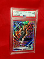 🔥2019/20 DONRUSS OPTIC #16 LUKA DONCIC *FANATICS PSA 9 MINT*  MAVERICKS💎🏀