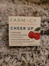 Farmacy Cheer Up Brightening Vitamin C Eye Cream Cherry 15 ml / .5 Oz New