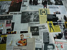 ELVIS COSTELLO - MAGAZINE CUTTINGS COLLECTION (REF T6)
