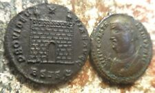 Lot of 2 Ancient Roman Coins of Constantine the Great, Both VF to VF+!