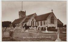 IOW; All Saints Parish Church, Freshwater RP PPC By Sweetman, Unused, c 1950's
