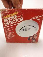 Vintage Family Gard Smoke Detector model # FG888D