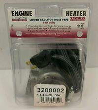 Lower Radiator Hose Coolant Engine Heater Zero Start 3200002