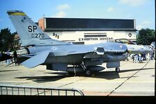 2/303 General Dynamics F-16 Fighting Falcon United States Air Force SP-270 SLIDE