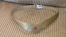Vintage Wonder Woman belt for costume.  The belt is from early years 30.5 inches