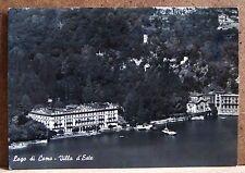 Lago di Como - villa d'Este [grande, b/n, viaggiata]