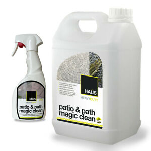 Patio Cleaner Strong Mould Black Spot & Algae Remover Moss Killer Magic Clean