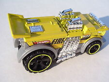 YELLOW Backdrafter Fire Engine. Hot Wheels CFJ57. LOOSE Fresh Out of the Box!