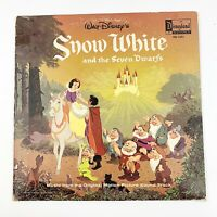 Vtg Disney Snow White & the Seven Dwarfs Original Soundtrack LP Record 1201 1968